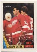1987 OPC 123 Adam Oates RC Nm-Mt