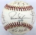 1988 Braves  Team Ball w/Rookie Glavine & Smoltz 8.5