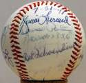 1988 Cardinals   Red Schoendienst Old Timers Balls (13 pcs) 8