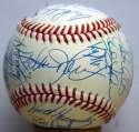 1989 Mets  Team Ball 9.5 (ONL White)