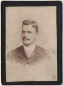 1889 Police Gazette Cabinets  Sanders, A.B. Poor (trimmed mount)