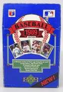 1989 Upper Deck  Wax Box