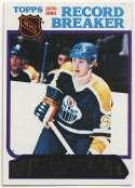 1980 Topps 3 Wayne Gretzky RB Ex-Mt