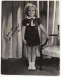 8 x 10  Black, Shirley Temple 9