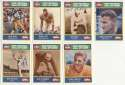 1990 CMC  Collection of 7 Football HOFers w/Hutson 9.5