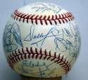 1995 Mets  Team Ball 9 (ONL Coleman)