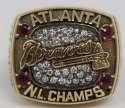 1996   Atlanta Braves World Series Ring (Gorgeous) NM