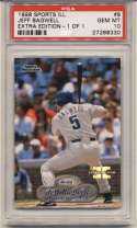 1998 Fleer Sports Illustrated 1/1 8 Jeff Bagwell PSA 10