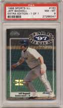 1998 Fleer Sports Illustrated 1/1 183 Jeff Bagwell PSA 8