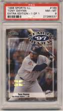 1998 Fleer Sports Illustrated 1/1 189 Tony Gwynn PSA 8