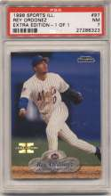 1998 Fleer Sports Illustrated 1/1 97 Rey Ordonez PSA 7