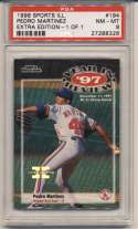 1998 Fleer Sports Illustrated 1/1 194 Pedro Martinez PSA 8