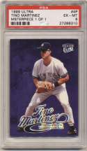 1999 Fleer Ultra Masterpiece 1/1 4 Tino Martinez PSA 6