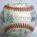 1998 Yankees  Team Ball 9.5
