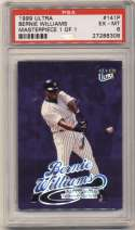 1999 Fleer Ultra Masterpiece 1/1 141 Bernie Williams PSA 6
