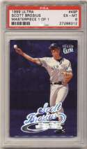1999 Fleer Ultra Masterpiece 1/1 49 Scott Brosius PSA 6