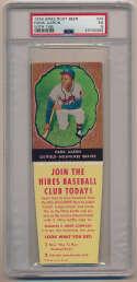 1958 Hires with tab 44 Hank Aaron PSA 5