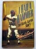 Book  Aaron, Hank Signed Book 9.5 JSA LOA (CARD)