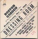 1964   Ali Dressing Room Pass x