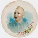 1889 A35 Goodwin Round Album Page  Cap Anson VG