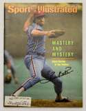 Program  Carlton, Steve Signed 1983 S.I. 9.5