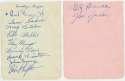 Album Page  1936 Dodgers w/Ed Brandt & Mungo 9.5 JSA LOA