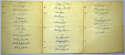 Team Sheet  1944 NL All Stars w/Mel Ott 9