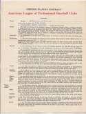 Contract  Dixon, John 1955 Kansas City As 9.5