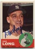 1963 Topps 484 Dale Long 9.5