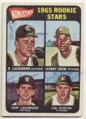 1965 Topps 526 Hunter RC (signed 3/ 4) 8