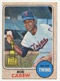 1968 Topps 80 Rod Carew 9