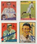 1980   1970s/1980s era HOF Signed Card Collection (188 pcs) 9.5
