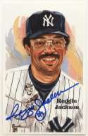 1980 Perez Steele  Jackson, Reggie 9.5 JSA LOA (CARD)