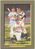 1985 Perez Steele Greatest Moments 87 Willie Mays, Mickey Mantle, Duke Snider 7 JSA LOA (FULL)