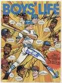 8 x 10  1982 Boys Life w/Brett & Yaz (10 sigs) 9