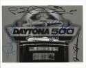 8 x 10  Daytona 500 Trophy w/5 sigs incl. Andretti & Foyt 9.5