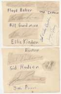 Album Page  Collection of 27 Autographs from the Mid-1950s 9