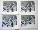 8 x 10  Alou Family (lot of 5) 9.5