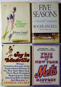 Book  Signed Book Collection (7 pcs, NY/Mets content) 9 JSA LOA