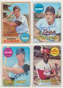 1964   Collection of 43 vintage signed cards w/many HOFers 7.5