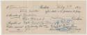 Check  DeLong & Goudey Signed 1920 Check 9
