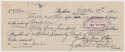 Check  DeLong & Goudey Signed 1922 Check 9
