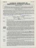 Contract  Reiser, Pete 1959 Contract 9.5 JSA LOA