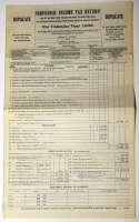 1932 Document  Barrow, Ed 1932 Tax Return 9.5