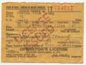 Document  Young, Cy 1942 Drivers License 9.5