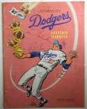 Program  1967 LA Dodgers Signed Yearbook (27 sigs) 9.5