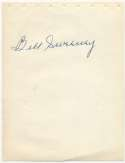 Album Page  Sweeney, Bill 9.5 JSA LOA