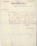 Letter  Doubleday, Abner  9.5