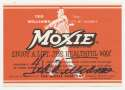 Williams, Ted Signed Moxie Label 9.5