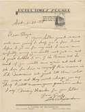 Letter  Alexander, Grover C. 9.5